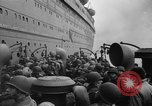 Image of American soldiers arriving in England during World War 2 United Kingdom, 1944, second 40 stock footage video 65675051438