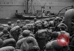 Image of American soldiers arriving in England during World War 2 United Kingdom, 1944, second 42 stock footage video 65675051438