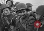 Image of American soldiers arriving in England during World War 2 United Kingdom, 1944, second 51 stock footage video 65675051438