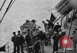 Image of American troops practice amphibious landings before D-Day Scotland United Kingdom, 1944, second 22 stock footage video 65675051451