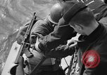 Image of American troops practice amphibious landings before D-Day Scotland United Kingdom, 1944, second 36 stock footage video 65675051451