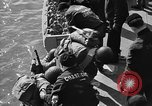 Image of American troops practice amphibious landings before D-Day Scotland United Kingdom, 1944, second 42 stock footage video 65675051451