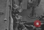 Image of American troops practice amphibious landings before D-Day Scotland United Kingdom, 1944, second 51 stock footage video 65675051451