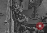 Image of American troops practice amphibious landings before D-Day Scotland United Kingdom, 1944, second 52 stock footage video 65675051451