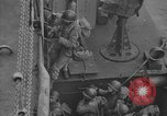 Image of American troops practice amphibious landings before D-Day Scotland United Kingdom, 1944, second 57 stock footage video 65675051451