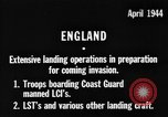 Image of American amphibious forces in Exercise Tiger United Kingdom, 1944, second 1 stock footage video 65675051453