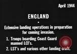 Image of American amphibious forces in Exercise Tiger United Kingdom, 1944, second 2 stock footage video 65675051453