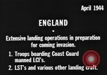 Image of American amphibious forces in Exercise Tiger United Kingdom, 1944, second 3 stock footage video 65675051453