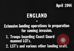 Image of American amphibious forces in Exercise Tiger United Kingdom, 1944, second 4 stock footage video 65675051453