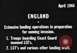 Image of American amphibious forces in Exercise Tiger United Kingdom, 1944, second 6 stock footage video 65675051453