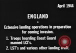 Image of American amphibious forces in Exercise Tiger United Kingdom, 1944, second 8 stock footage video 65675051453