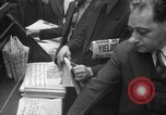 Image of Newspaper headlines tell of Allied invasion New York City USA, 1944, second 17 stock footage video 65675051457