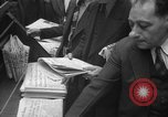 Image of Newspaper headlines tell of Allied invasion New York City USA, 1944, second 18 stock footage video 65675051457