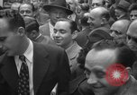 Image of Newspaper headlines tell of Allied invasion New York City USA, 1944, second 26 stock footage video 65675051457
