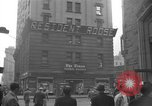 Image of Newspaper headlines tell of Allied invasion New York City USA, 1944, second 31 stock footage video 65675051457