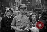 Image of Newspapers carry stories about Allied Invasion of France New York City USA, 1944, second 13 stock footage video 65675051458