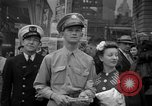 Image of Newspapers carry stories about Allied Invasion of France New York City USA, 1944, second 14 stock footage video 65675051458