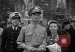 Image of Newspapers carry stories about Allied Invasion of France New York City USA, 1944, second 15 stock footage video 65675051458