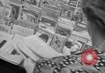 Image of Newspapers carry stories about Allied Invasion of France New York City USA, 1944, second 21 stock footage video 65675051458