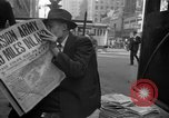 Image of Newspapers carry stories about Allied Invasion of France New York City USA, 1944, second 57 stock footage video 65675051458