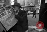 Image of Newspapers carry stories about Allied Invasion of France New York City USA, 1944, second 58 stock footage video 65675051458