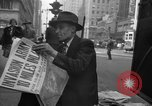 Image of Newspapers carry stories about Allied Invasion of France New York City USA, 1944, second 62 stock footage video 65675051458