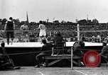 Image of boxing match Paris France, 1919, second 4 stock footage video 65675051497