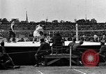 Image of boxing match Paris France, 1919, second 6 stock footage video 65675051497