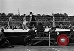 Image of boxing match Paris France, 1919, second 8 stock footage video 65675051497