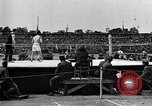 Image of boxing match Paris France, 1919, second 10 stock footage video 65675051497
