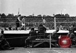 Image of boxing match Paris France, 1919, second 15 stock footage video 65675051497