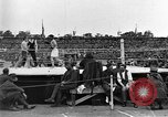 Image of boxing match Paris France, 1919, second 21 stock footage video 65675051497