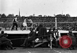 Image of boxing match Paris France, 1919, second 23 stock footage video 65675051497