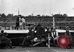 Image of boxing match Paris France, 1919, second 24 stock footage video 65675051497
