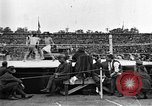Image of boxing match Paris France, 1919, second 25 stock footage video 65675051497