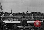 Image of boxing match Paris France, 1919, second 32 stock footage video 65675051497
