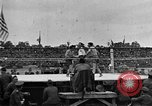 Image of boxing match Paris France, 1919, second 34 stock footage video 65675051497