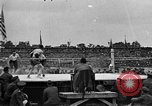 Image of boxing match Paris France, 1919, second 44 stock footage video 65675051497