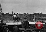 Image of boxing match Paris France, 1919, second 46 stock footage video 65675051497