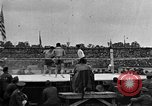Image of boxing match Paris France, 1919, second 47 stock footage video 65675051497