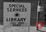 Image of service library Uijongbu South Korea, 1954, second 20 stock footage video 65675051547