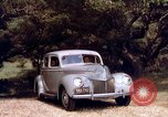 Image of People visiting a forest in their 1939 Ford car United States USA, 1939, second 45 stock footage video 65675051552