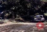 Image of People visiting a forest in their 1939 Ford car United States USA, 1939, second 60 stock footage video 65675051552