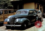 Image of Ford V8 automobile commercial advertisment 1939 United States USA, 1939, second 17 stock footage video 65675051554
