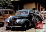 Image of Ford V8 automobile commercial advertisment 1939 United States USA, 1939, second 18 stock footage video 65675051554