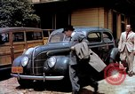 Image of Ford V8 automobile commercial advertisment 1939 United States USA, 1939, second 19 stock footage video 65675051554
