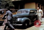Image of Ford V8 automobile commercial advertisment 1939 United States USA, 1939, second 20 stock footage video 65675051554