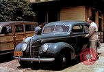 Image of Ford V8 automobile commercial advertisment 1939 United States USA, 1939, second 21 stock footage video 65675051554