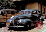 Image of Ford V8 automobile commercial advertisment 1939 United States USA, 1939, second 25 stock footage video 65675051554