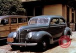 Image of Ford V8 automobile commercial advertisment 1939 United States USA, 1939, second 26 stock footage video 65675051554